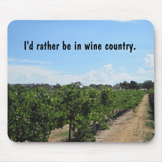 Paso Robles, California, Wine Country Mouse Pad