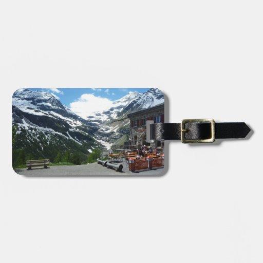 Paso Suiza de Bernina Etiquetas De Equipaje