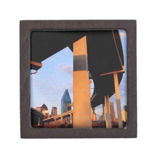 Paso superior de la autopista sin peaje en Dallas  Cajas De Recuerdo De Calidad