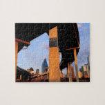 Paso superior de la autopista sin peaje en Dallas  Puzzles Con Fotos