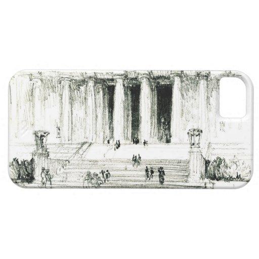 Pasos 1922 del Lincoln memorial iPhone 5 Cárcasas