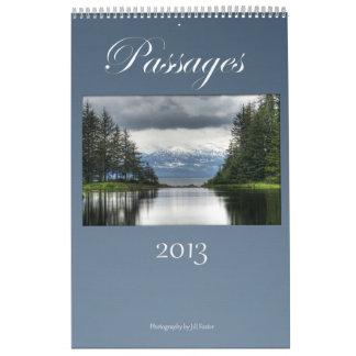 Pasos 2013 calendarios
