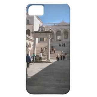 Pasos a la iglesia de la abadía iPhone 5 carcasas