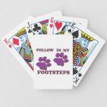 Pasos animales baraja cartas de poker