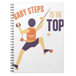 Pasos de bebé notebook