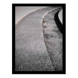 pasos de la fuente:: parque verde oliva tarjeta postal