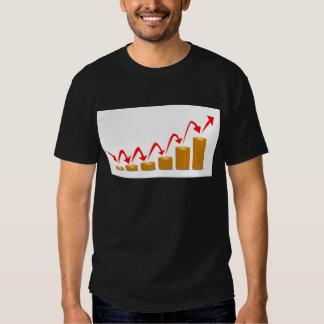 Pasos de levantamiento del dinero camisas