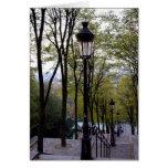 Pasos de Montmartre Tarjetas