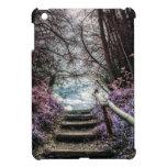 Pasos del bosque de la fantasía iPad mini coberturas