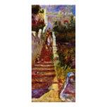 Pasos en Argel. Por Pierre-Auguste Renoir Tarjeta Publicitaria