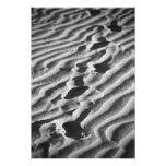 Pasos en una playa de Sandy Arte Fotográfico