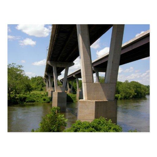 Pasos I-78 sobre el río Delaware Postal