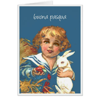 pasqua del buona tarjeta de felicitación