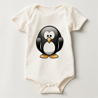 Pasqual the Cartoon Penguin Baby Bodysuit