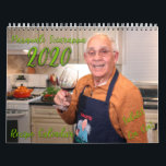 "Pasquale Sciarappa 2020 Recipe Calendar<br><div class=""desc"">The first ever Pasquale Sciarappa recipe calendar for the new decade! Enjoy each month of 2020 with a delicious recipe,  and a little memoir in photos of Pasquale"