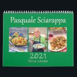 """Pasquale Sciarappa 2021 Recipe Calendar<br><div class=""""desc"""">Enjoy each month with a delicious recipe by Pasquale Sciarappa. This is the 2021 Pasquale Sciarappa recipe calendar.</div>"""