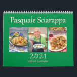 "Pasquale Sciarappa 2021 Recipe Calendar<br><div class=""desc"">Enjoy each month with a delicious recipe by Pasquale Sciarappa. This is the 2021 Pasquale Sciarappa recipe calendar.</div>"