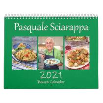 Pasquale Sciarappa 2021 Recipe Calendar