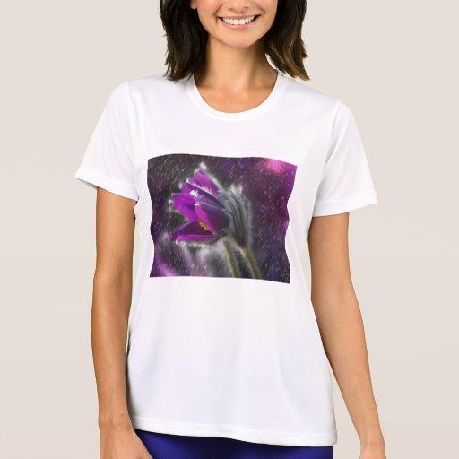 pasque flower t shirt