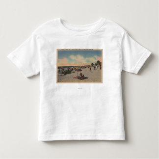 Pass-a-Grille Beach, Florida - Sunbathers on Toddler T-shirt