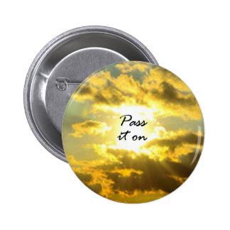 Pass It On 2 Inch Round Button
