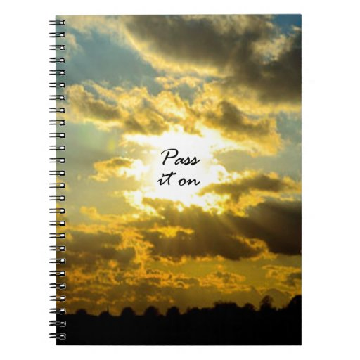 Pass It On Spiral Note Book