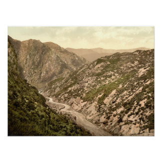 Pass of Ballaghbema, County Kerry archival print