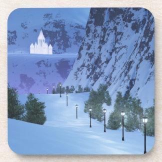 Pass of Light Cork Coaster