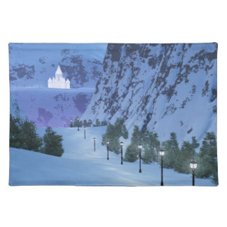 Pass of Light Placemat Cloth Placemat