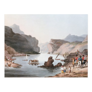 Pass of the Tagus at Villa Velha into the Postcard