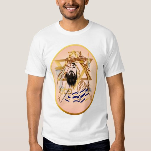 Pass Over Collage Rose Oval Shirt