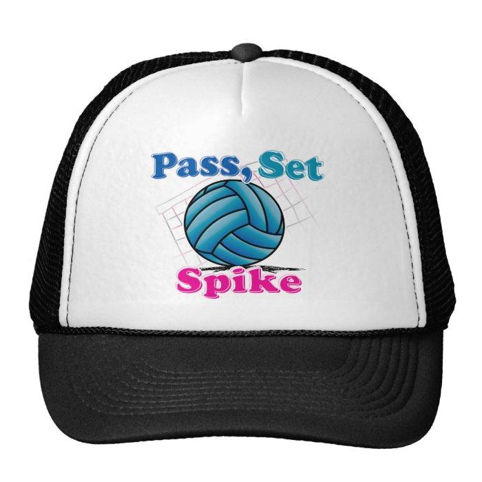 Pass Set Spike Trucker Hat