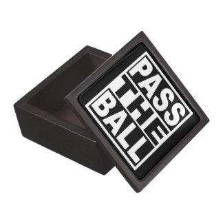 Pass the Ball Jewelry Box