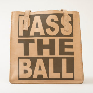 Pass the Ball Tote