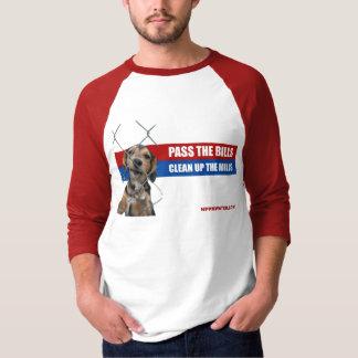 Pass The Bills/Clean Up The Mills 3/4 Sleeve T-Shirt