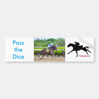 Pass the Dice & Joel Rosario Bumper Sticker