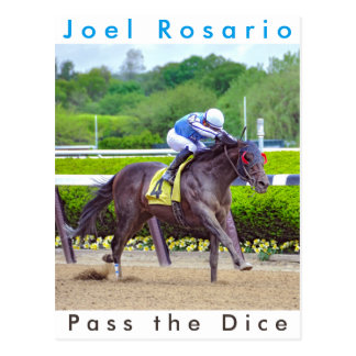 Pass the Dice & Joel Rosario Postcard