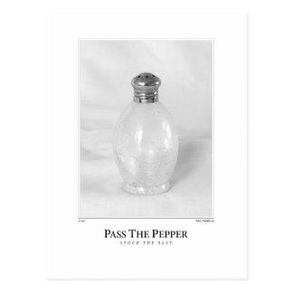 Pass The Pepper Postcard