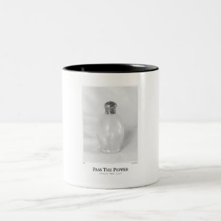 Pass The Pepper Two-Tone Coffee Mug