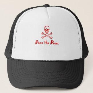 Pass the Rum Trucker Hat