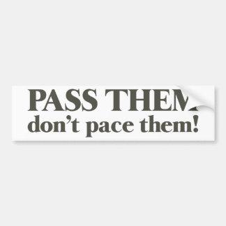 pass them bumper sticker
