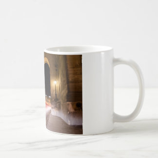 passage car traffic at night coffee mug
