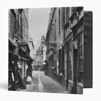 """Passage de la Petite Boucherie Carpeta 1 1/2"""""""