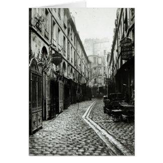Passage du Dragon, Paris, 1858-78 Card