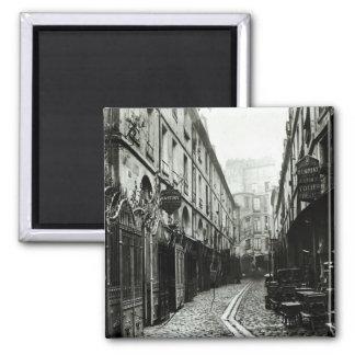 Passage du Dragon, Paris, 1858-78 Magnet