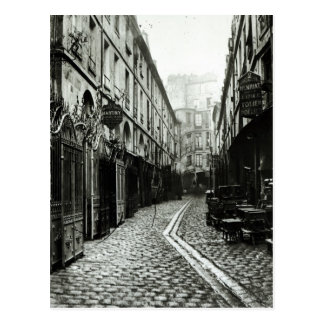 Passage du Dragon, Paris, 1858-78 Postcard