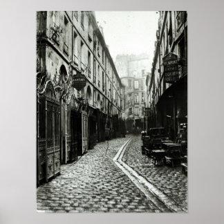Passage du Dragon, Paris, 1858-78 Poster
