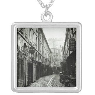 Passage du Dragon, Paris, 1858-78 Silver Plated Necklace