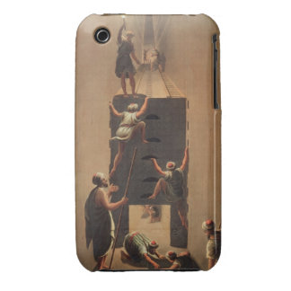 Passage from the Second to the Third Gallery in th iPhone 3 Cover