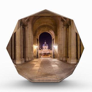 Passage in Louvre to bridge of arts in Paris Acrylic Award